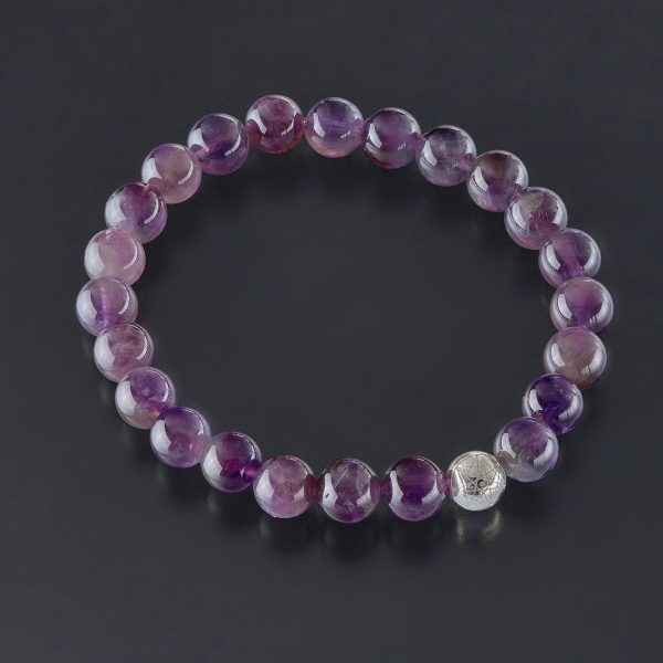 Amethyst 925 Silver Bracelet - Modern Alchemy