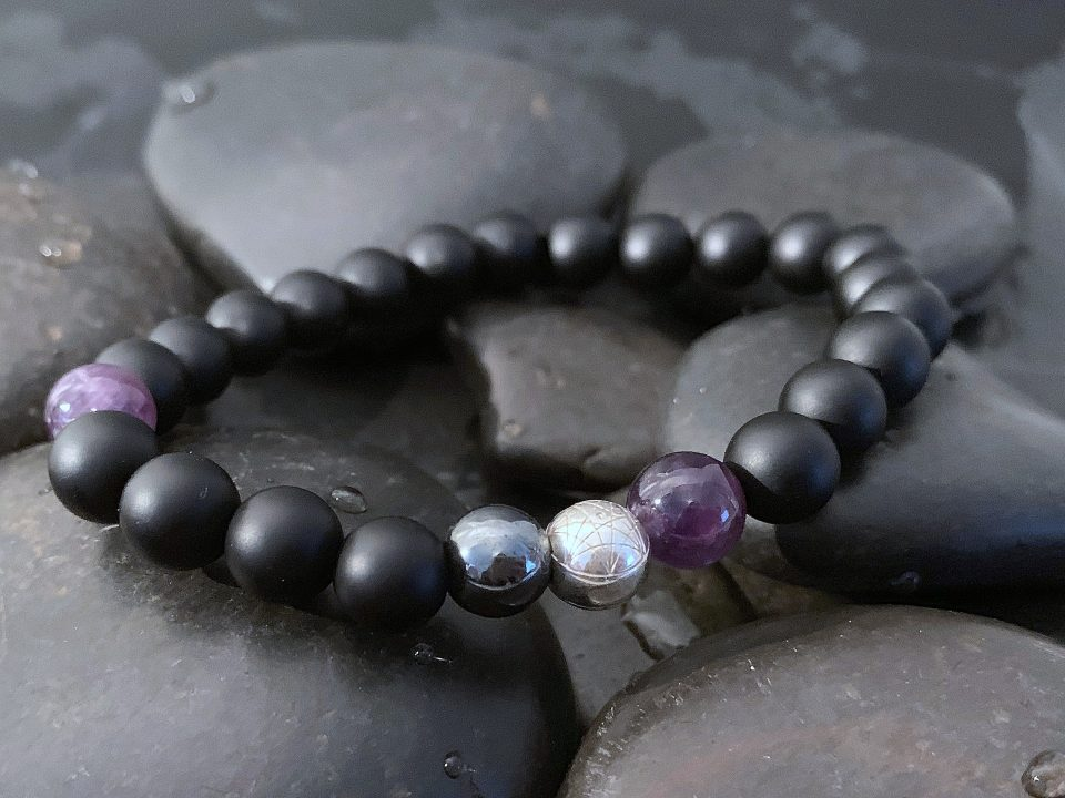 Amethyst bracelet - Modern Alchemy